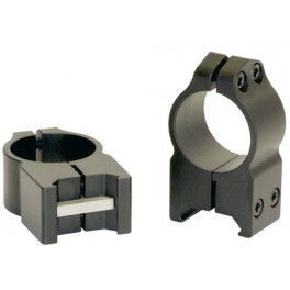 Warne Maxima Scope Rings 1 Inch High 202M
