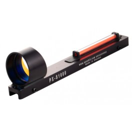 EasyHit PXS 1000 Fiber Optic Sight - Ring Dot
