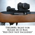 Tech Sights Aperture Sight for Ruger 10/22 Rail TSR200RL