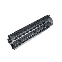 UTG PRO Mid Length Free Float Quad Rail Handguard MTU004