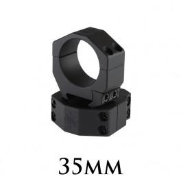 Seekins Scope Rings 35mm Medium 4 Screw