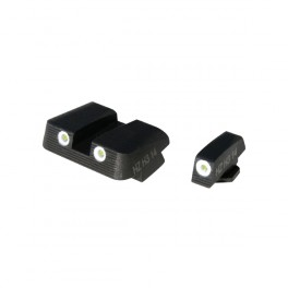 HIVIZ NiteSight Front and Rear Sights for Glock GLN125