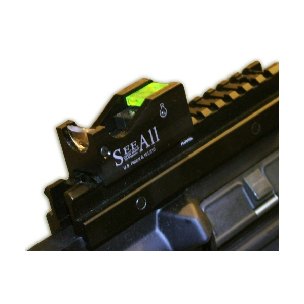 See All Open Sight - Fiber Optic Open Sight - Crosshair Reticle