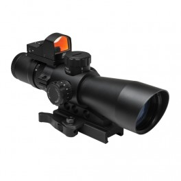 NcSTAR Ultimate Sighting System Gen II 3-9x42 P4 Sniper with Red Dot STP3942GDV2