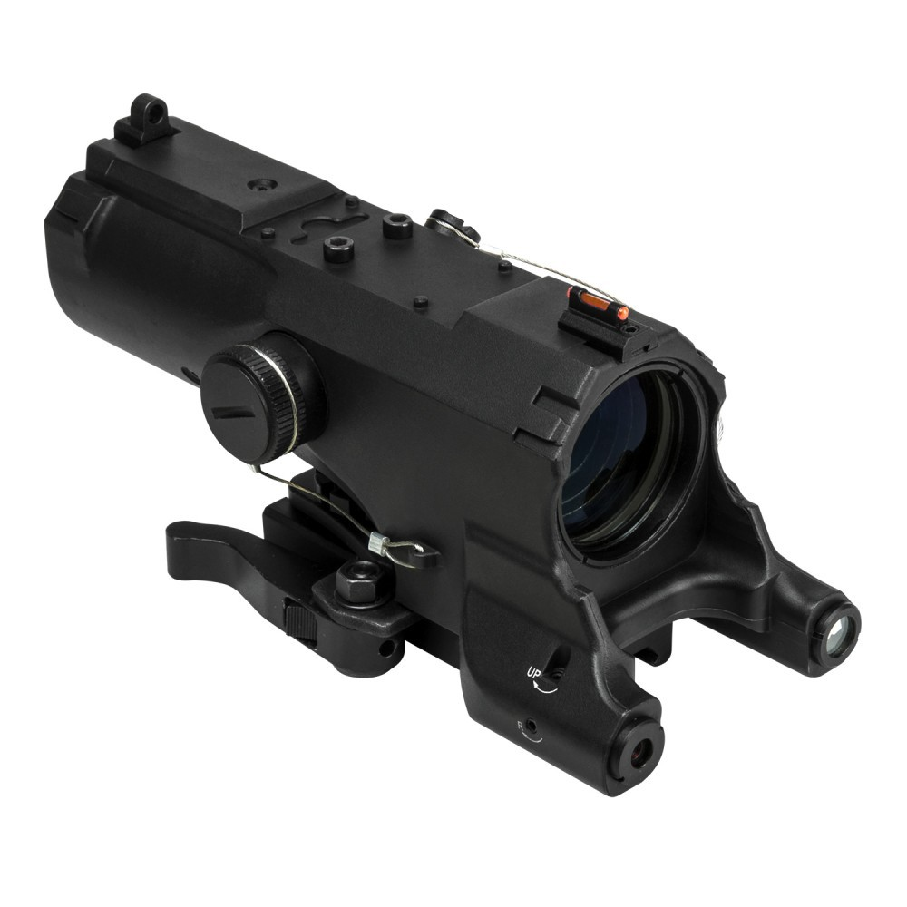 NCSTAR STM3942GDV2 3-9X42 ULTIMATE SIGHTING SYSTEM RIFLE SCOPE /& MICRO RED DOT