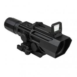 VISM ADO 3-9x42 Scope P4 Sniper with Flip-Up Red Dot VADOBP3942G