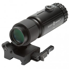 Sightmark T-5 5x Magnifier and LQD Flip-to-Side Mount SM19064