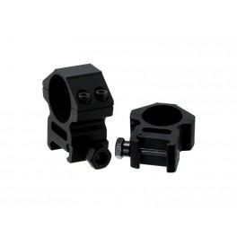 UTG ACCUSHOT Universal Scope Rings 1 Inch Medium RGWM-25M4