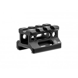 UTG Super Slim Picatinny Riser Mount 3 Slot 0.75 Inch Height MT-RSX7S