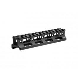 UTG Super Slim Picatinny Riser Mount 13 Slot 0.83 Inch Height MT-RSX8L