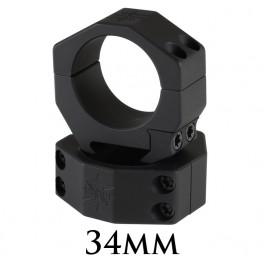 Seekins Scope Rings 30mm High 4 Screw