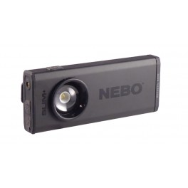 NEBO SLIM+ Rechargeable Flashlight with Laser and Power Bank 6859