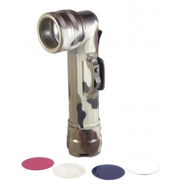Fulton Flashlight MX991/U Right Angle Flashlight Woodland Camo N47-WC