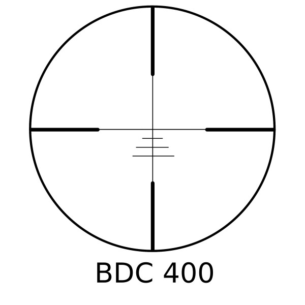 Minox BDC 400 Reticle