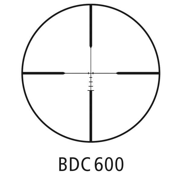 Minox BDC 600 Reticle