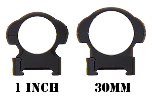 30mm Vs. 1 Inch Rings