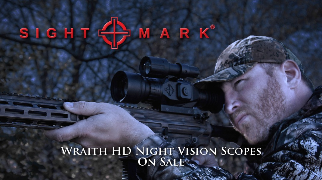 Sightmark Wraith HD 4-32x50 Digital Night Vision Rifle Scope SM18011