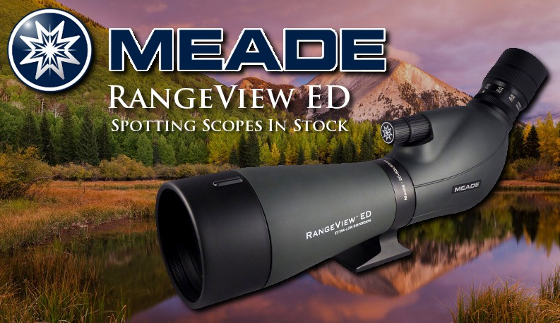 Meade RangeView ED Spotting Scopes
